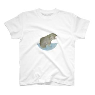 あんぐりコビトカバくん T-shirts