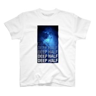 柔術DEEP HALF T-shirts