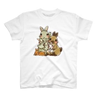 るうこねファミリー T-shirts