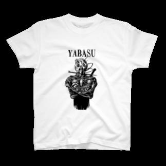 ブロッコ・リーのYABASU Tシャツ T-shirts