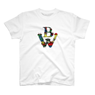 BW Five Colors Tshirts T-shirts