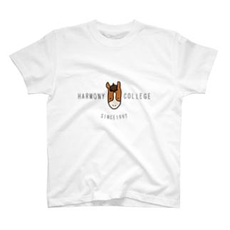 HARMONYCOLLEGE(黒) T-shirts