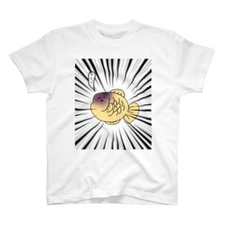 たい焼きさん 食中毒ver. T-shirts