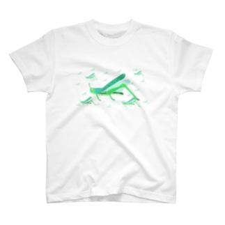 サバクトビバッタ 孤独相 群体・蝗害  T-shirts