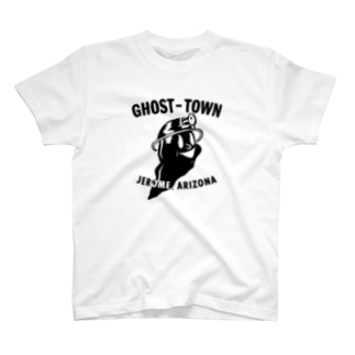 GHOST TOWN_BLK T-shirts