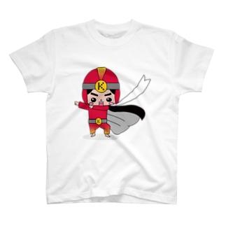 謎ヒーローK T-shirts