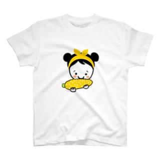もろこしスマイルちゃん T-shirts