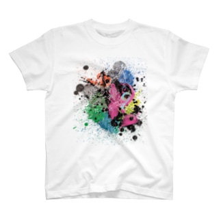 せじのpainted mnt T-shirts