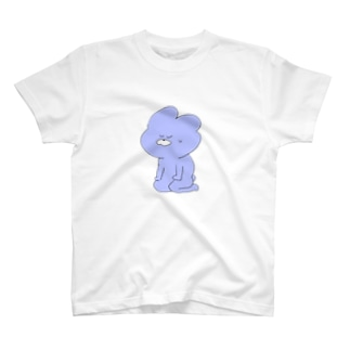改まったうさぎ T-shirts