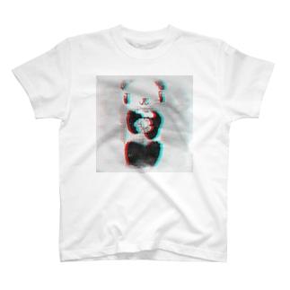 フラワーパンダ T-shirts