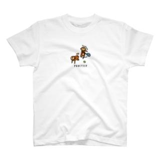サルのフォアハンド T-shirts