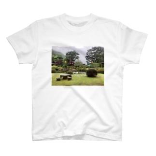 ichio1221の庭園 T-shirts