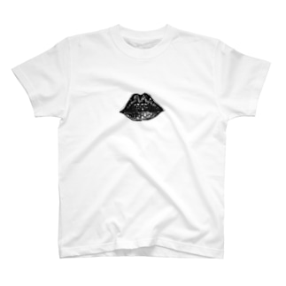 Skybluehypeのパターン・リップ T-shirts