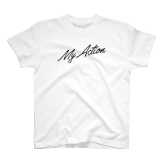 My Action Goods Black T-shirts