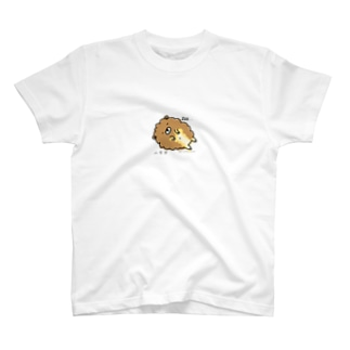 しほんぬ Atelier.Coccolo(アトリエコッコロ)のへそ天もっふん T-shirts