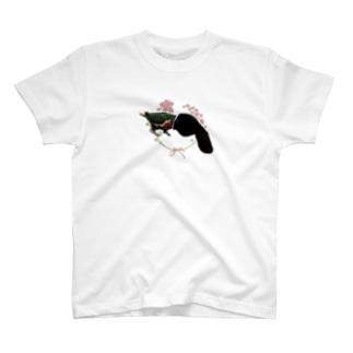 マニアックインコ(靴下オバケ) T-shirts