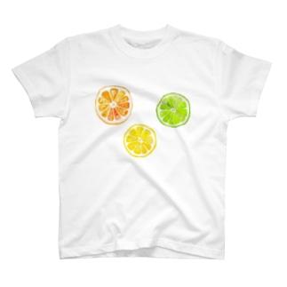 なでしこ@デザインのシトラスフルーツ! T-shirts