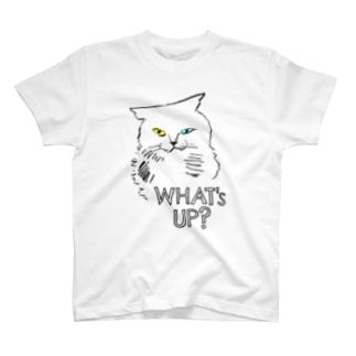What's up? - オッドアイ T-shirts