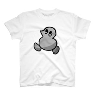 幼い鳥 歩く T-shirts