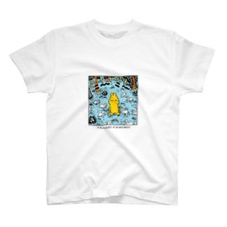 【エポッくん】エポッくんとウィニーラート T-shirts