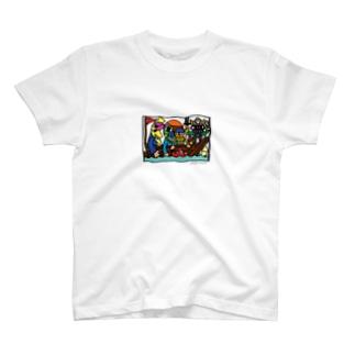 海賊船フルーツモンスター T-shirts