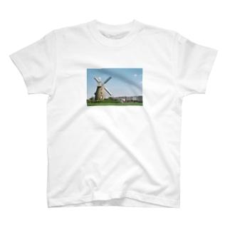 ドイツの風車 T-shirts