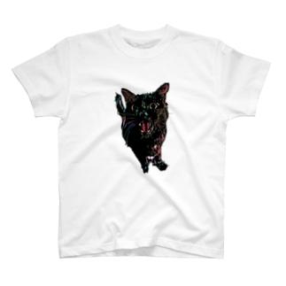 おねだり黒猫。 T-shirts