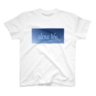 スローライフ T-shirts