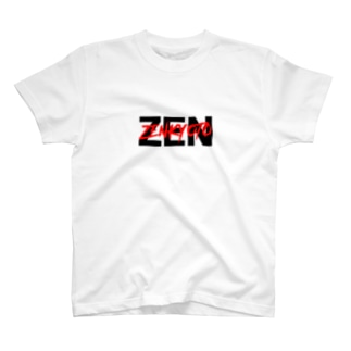 ZENSTOREのZENダブルロゴ T-shirts