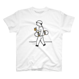 スケボーくんのおしゃれTシャツ T-shirts