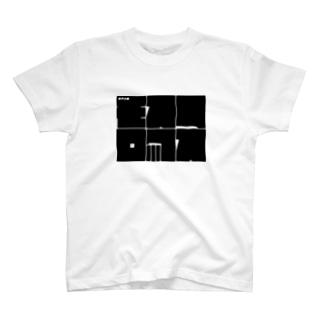 音声企画モスフロックスのごついロゴ T-shirts