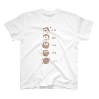 ハリネズミさんのご機嫌ナナメ度 T-shirts