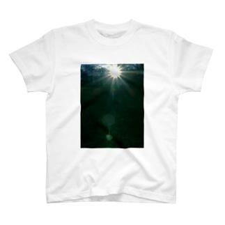 アマテラス ささやくもの DATA_P_149 太陽の輝き T-shirts