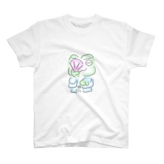 和服カエル T-shirts