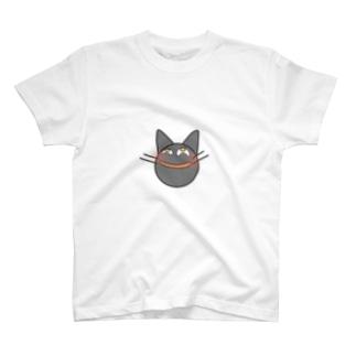 ニヤつく猫 T-shirts