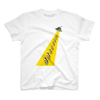 アブダクション シリーズ part2 T-shirts