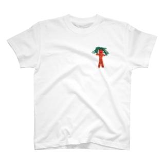 後ろは地球の絵!ちきゅうのともだちTシャツ T-shirts