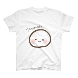 どどんとおおきいしらたま子ちゃん T-shirts