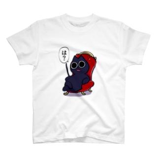 キレる黒猫 T-shirts
