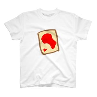 いちごジャムトースト T-shirts