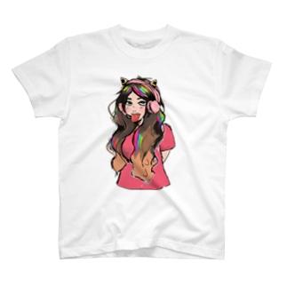 やさぐれましたRANTEAM T-shirts
