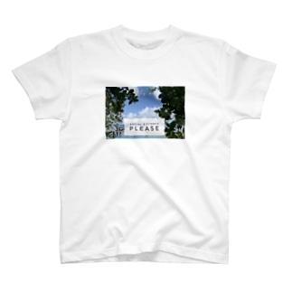 ソーシャルディスタンス確保 T-shirts
