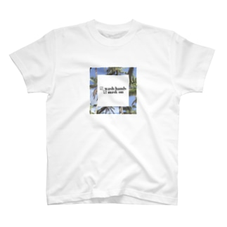 Wash hands mask on T-shirts