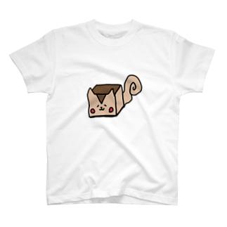 四角いリス T-shirts