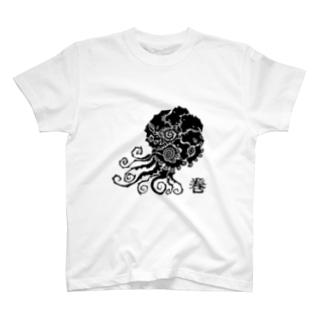 PINKIE JUNKIEのアンモナイト T-shirts