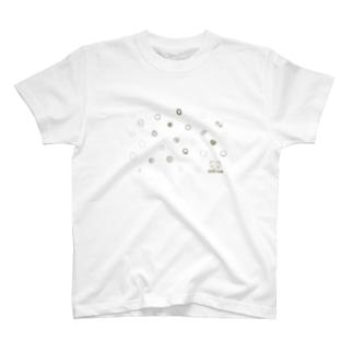 自由な水玉模様2020AWver. T-shirts