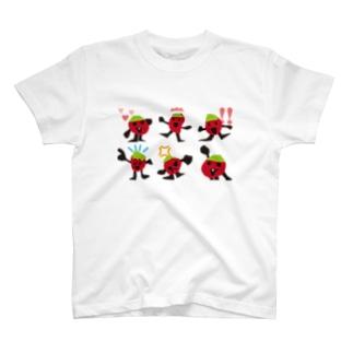 トマトの家族の家族写真 T-shirts