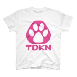 TDKNロゴ T-shirts