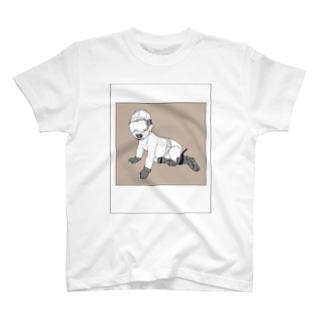 スキーBaby(Tシャツ) T-shirts