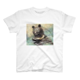 松井 翼 /  Tsubasa Matsuiの熊の水浴び T-shirts